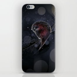 the moon asked iPhone Skin
