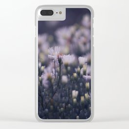 Dreamy daisies Clear iPhone Case