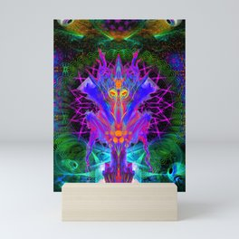 Lord Rokklu From Orion (Vallios Visual Kung Fu Collab) Mini Art Print