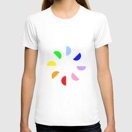 Chromatic circles T-shirt