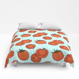 Tomato patter Comforters