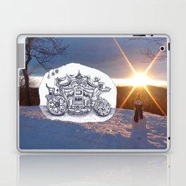 Travel with Mr Snowman Laptop & iPad Skin
