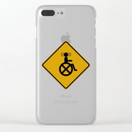 Telepath Crossing Clear iPhone Case