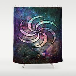 Hero of Space Shower Curtain