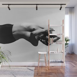 Nude dancer black and white nude photography 2010 Wall Mural