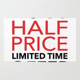 Half Price Hugs Rug