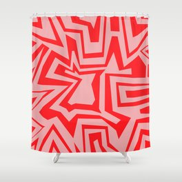 Ice Pink - Coral Reef Series 011 Shower Curtain