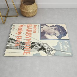 Vintage poster - Moby Dick Rug
