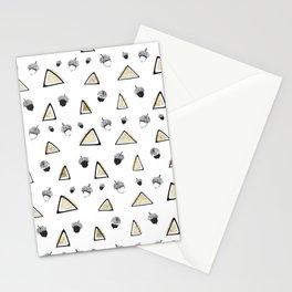 hazelnuts & triangles. Stationery Cards