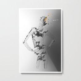 E²_ Metal Print