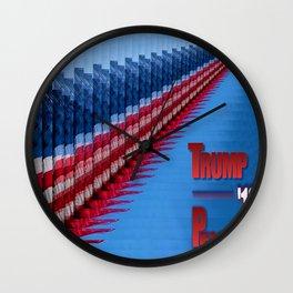 TRUMP-PENCE 16 Wall Clock
