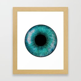 E Y E Framed Art Print