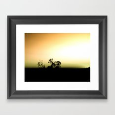 Twisted Trees Framed Art Print
