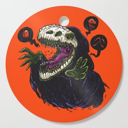 Grim Reapersaur Cutting Board