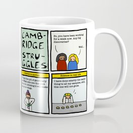 Cambridge stuggles: Science Coffee Mug