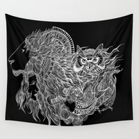 courage Wall Tapestries featuring Courage~  by AnyaJocson