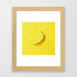 Bananagram Framed Art Print