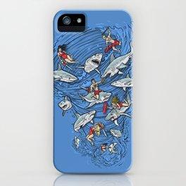 Malibu Beach Sharnado Massacre  iPhone Case