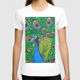 On Display - Peacock T-shirt