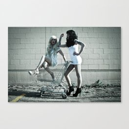 Anaol and Laila  Canvas Print