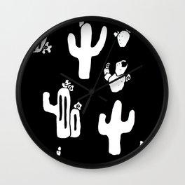 Cactus Party III Wall Clock