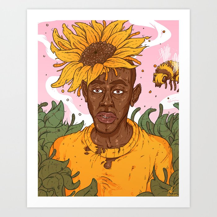 It's just a photo of Accomplished Flower Boy Drawing