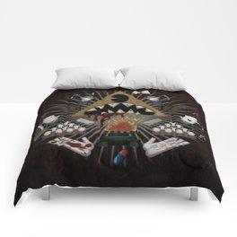 The decline Comforters