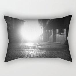 Late night, early morning Rectangular Pillow