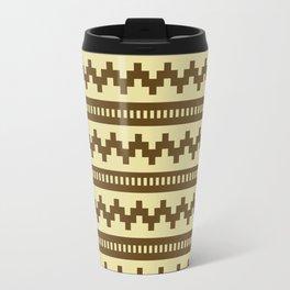 Pixel Sand Side Scroller Travel Mug