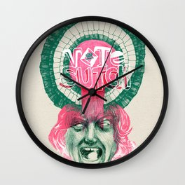 "Screaming Lord Sutch ""VOTE SUTCH"" - The Punk Loons. Wall Clock"