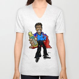 Like Cloud City Smoooooth! Lando from Star Wars The Empire Strikes Back/Billy Dee Williams Unisex V-Neck