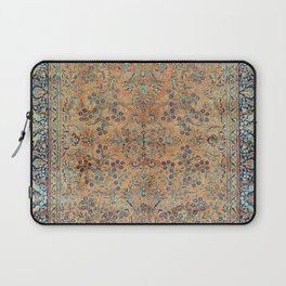 Kashan Floral Persian Carpet Print Laptop Sleeve