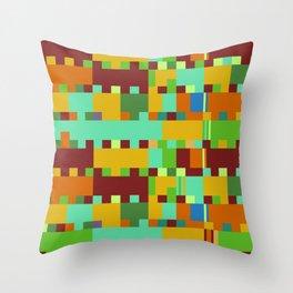 Chopin Fantaisie Impromptu (Intense Colours) Throw Pillow
