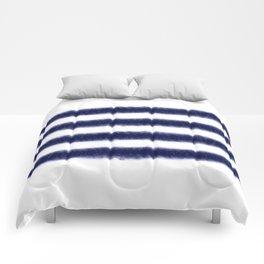 Indigo Stripes Comforters