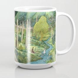 Painting By The Stream Coffee Mug