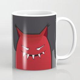Evil Monster With Pointy Ears Coffee Mug