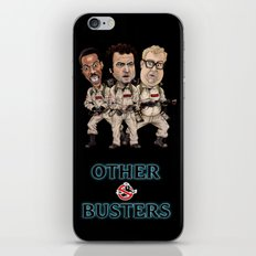 Otherbusters with Glow Title iPhone & iPod Skin