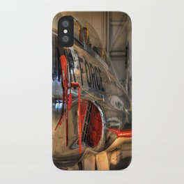 1960's Training Jet. Chrome Plated! iPhone Case