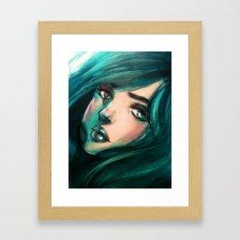 Marine Eyes Framed Art Print
