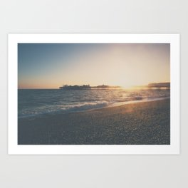 perfect light ... Art Print