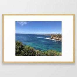 Blue of Australia Framed Art Print