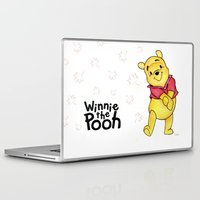 pooh Laptop & iPad Skins featuring Winnie the Pooh by laura nye.