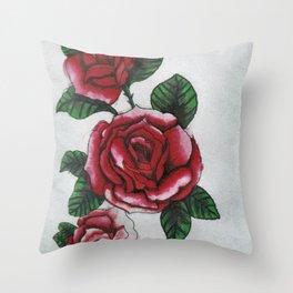 New roses Throw Pillow