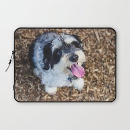 Happy Pup Laptop Sleeve