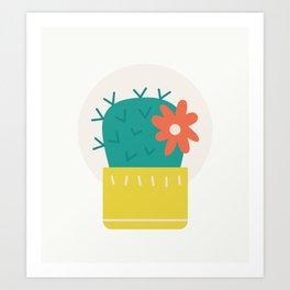 Cactus Collection 03 Art Print