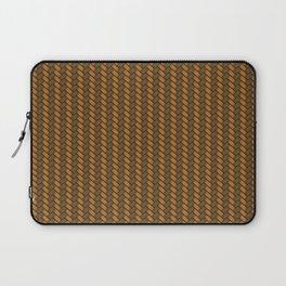 Wicker Basket Pattern Laptop Sleeve