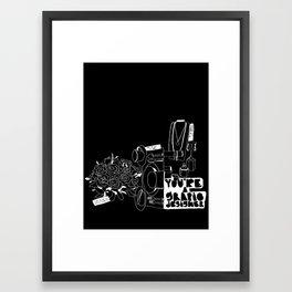 You're A Graphic Designer? Inverse Framed Art Print