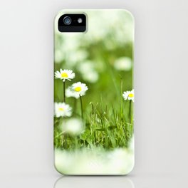 The Garden of Daisies iPhone Case