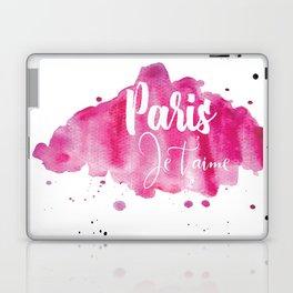 I love you, Paris (France) Laptop & iPad Skin