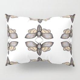 Death's Head Hawkmoth Pattern - Katrina Niswander Pillow Sham